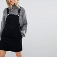Miss Selfridge Denim Dungaree Dress at asos.com