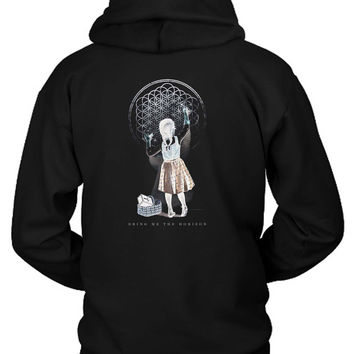 Bring Me The Horizon Band Sempiternal Girl Chalk Hoodie Two Sided