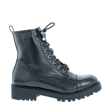 Sleek Combat Boot (BLACK)