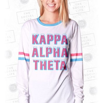 Kappa Alpha Theta Frosted Long Sleeve