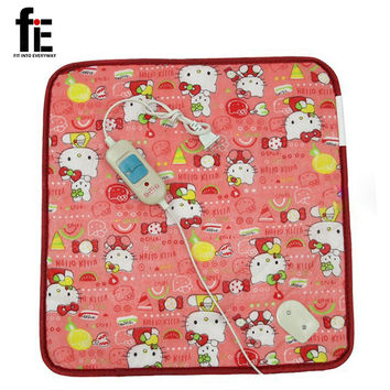 40*40cm Pet plush Electric Blanket Heated Seat Animals Bed Heater Mat Heating Pad Good Cat Dog Bed Body Winter Warmer Carpet