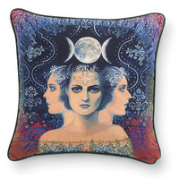 Moon Goddess Pillow - Women's Clothing & Symbolic Jewelry – Sexy, Fantasy, Romantic Fashions