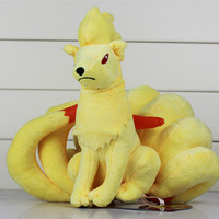 2016 New Pokemon Ninetales Action Figure Plush Toys Pokemon Stuffed Animals Soft Stuffed Baby Toys Dolls For Kids Best Gift