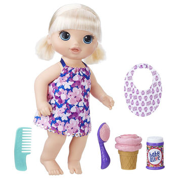 Baby Alive Magical Scoops Doll - Blonde