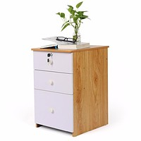 Solid Wood Office Storage Cabinet