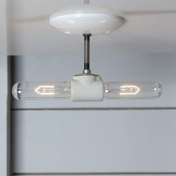 Double Ceiling Light - Semi Flush Mount