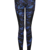 Camo Mesh Panel Legging by Ivy Park - Ivy Park - Clothing