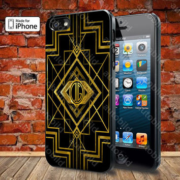 The Great Gatsby Logo Case For iPhone 5, 5S, 5C, 4, 4S and Samsung Galaxy S3, S4