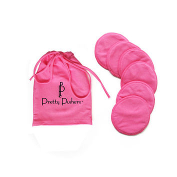 Pretty Pushers Nursing Pads {Pink}