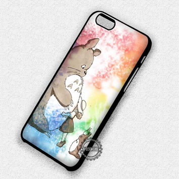 Fluffy Anime Ponyo - iPhone 7 6 Plus 5c 5s SE Cases & Covers