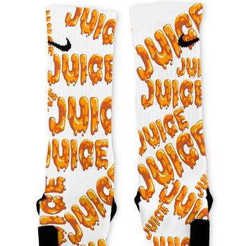 Juice Custom Nike Elite Socks