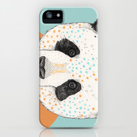 Polkadot Panda iPhone & iPod Case by Sandra Dieckmann