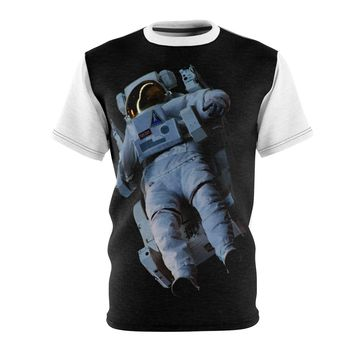 Astronaut In Space | Unisex AOP Cut & Sew Tee