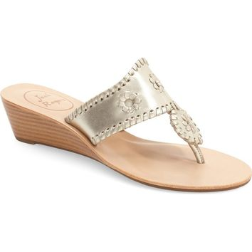 Jack Rogers 'Jacks' Wedge Sandal (Women) | Nordstrom