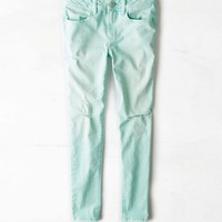 AEO Women's Mid-rise Jegging Ankle (Caicos)