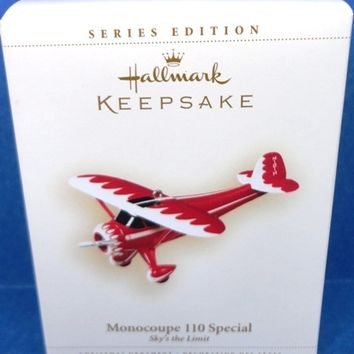 2006 Monocoupe 110 Hallmark Retired Series Ornament