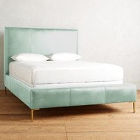 Premium Leather Edlyn Bed by Anthropologie