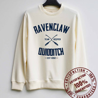Ravenclaw Quidditch Shirt Harry Potter Quidditch Sweatshirt Sweater Hoodie Shirt – Size XS S M L XL
