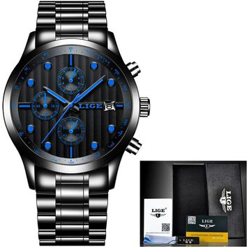 Men Luxury Waterproof Sport Quartz Watch