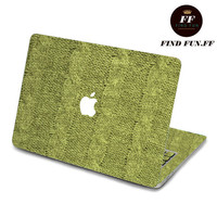 Decal Macbook Air Sticker Macbook Air Decal Macbook Pro Decal 绿毛线-052