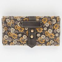 Daisy Print Wallet Black Combo One Size For Women 23830914901
