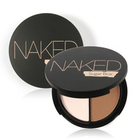 New Makeup Two-Color Bronzer & Highlighter Powder Trimming Powder Make Up Cosmetic