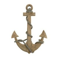"24"" Wooden Boat Anchor with Crossbar"