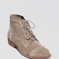Dolce Vita Lace Up Booties - Sylo Flat | Bloomingdale's