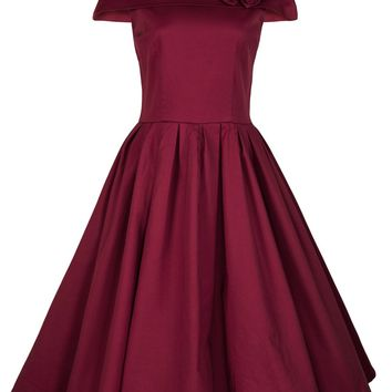 Lindy Bop Women's 'Darlene' Vintage 1950's Swing Party Prom Dress