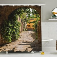 A Trip To Tuscany Shower Curtain