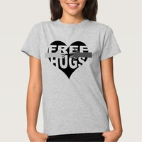 Free Hugs with Heart T-Shirt