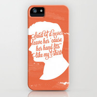 Liam Payne Silhouette   iPhone Case by Holly Ent | Society6