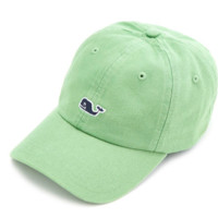 Vineyard Vines Signature Whale Logo Baseball Hat- Caterpillar