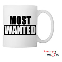 Most Wanted Coffee & Tea Mug