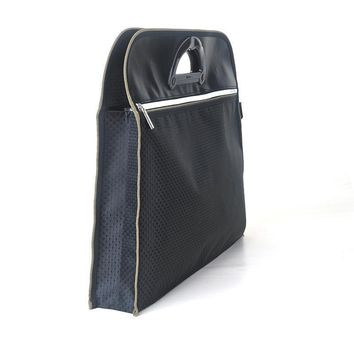High quality polyester large capacity A4 file data storage holder document bag zipper folder filling products office supplies