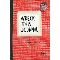 Wreck This Journal: Red - Walmart.com