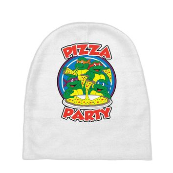 pizza party Baby Beanies