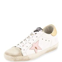 Golden Goose Superstar Leather Low-Top Sneake
