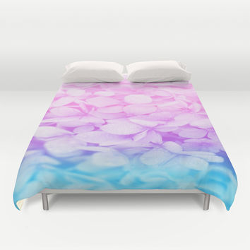Flowers Duvet Cover by WhimsyRomance&Fun