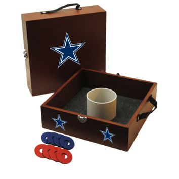 NFL Dallas COWBOYS Yard Toss Washer Toss NFL Dallas Cowboys