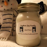 Jack Frost 16 oz Pint jar Soy Candle