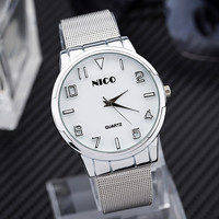 Hot Vintage Fashion Quartz Classic Watch Round Ladies Women Men Wristwatch Michael Kor Like On Sales = 4785460356