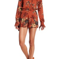 Blu Pepper | Floral Long Sleeve Romper | Nordstrom Rack