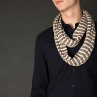 UrbanOutfitters.com > Jersey Stripe Eternity Scarf