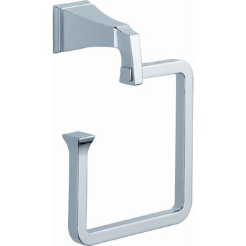 Delta Dryden Open Towel Ring in Chrome-128886 - The Home Depot