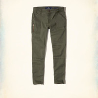 Girls Low-Rise Crop Super Skinny Pants | Girls New Arrivals | HollisterCo.com
