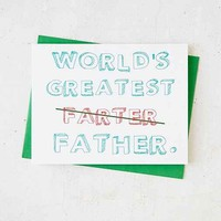 Turtle's Soup Father's Day Card