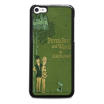 peter pan and wendy iphone 5c case cover  number 1