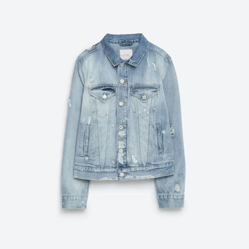 """I AM DENIM"" COLLECTION JACKET"