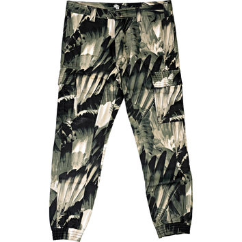 Staple Feather Camo Pants - Olive